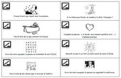 Cartes à écrire, ecriture, expression ecrite, rallye, ce1, ce2, cycle 2, cylce3