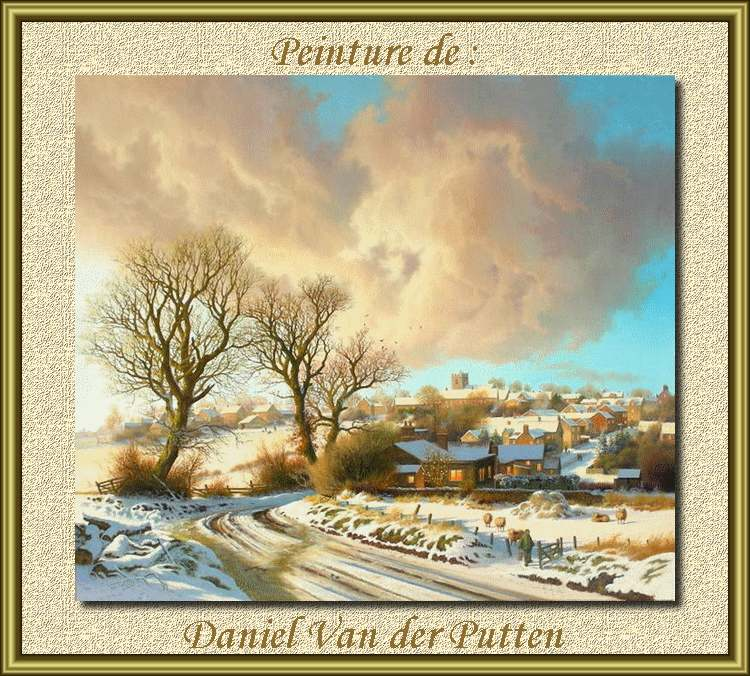 Peinture de : Daniel Van der Putten
