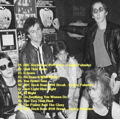 Hommage à Barrie Masters : Eddie and the Hot Rods - BBC Paris Theater Londres Août 1980