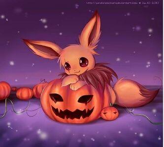 evee halloween: