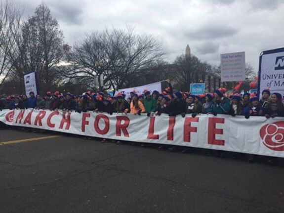 Marche pour la Vie, Etats-Unis © Facebook The March for Life