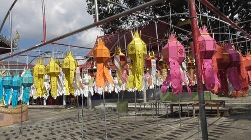 Village de Ban Ta Pa Pao, cérémonie du baci