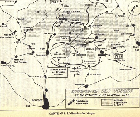 * Survivant de Bir Hakeim, par Domingo LOPEZ - 9 - FRANCE : De la Provence à l'Alsace (1944)