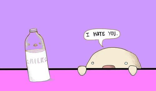 ↪L'intolérance au lactose