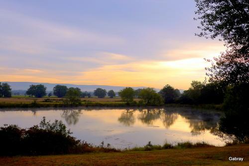 Castelnaudary : plan d'eau le matin ... n3