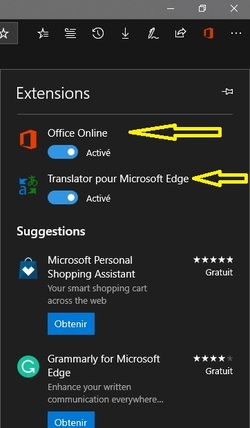 Edge Ses extensions