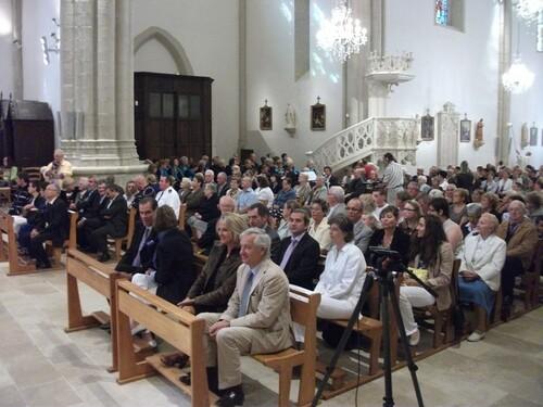 Terrasson : l'église Saint-Sour rénovée accueille l'Evêque