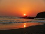 coucher de soleil Playa Marsella