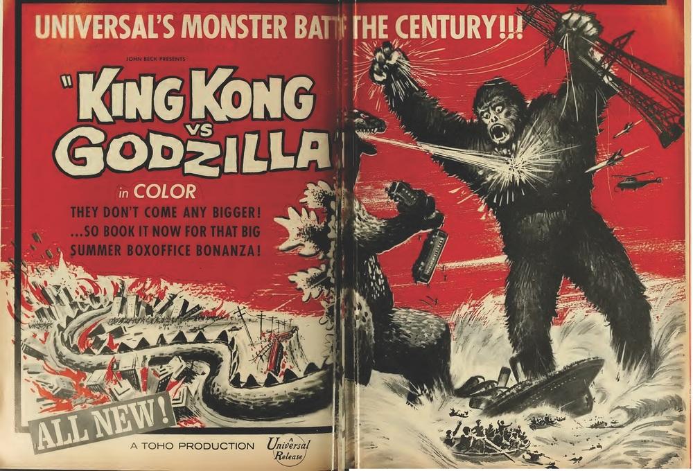 KING KONG VS GODZILLA BOX OFFICE