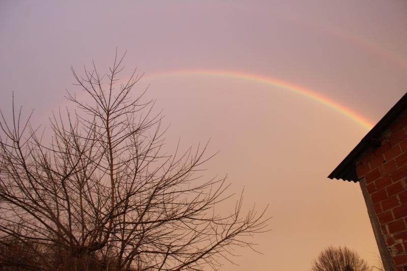 Un bel arc-en-ciel