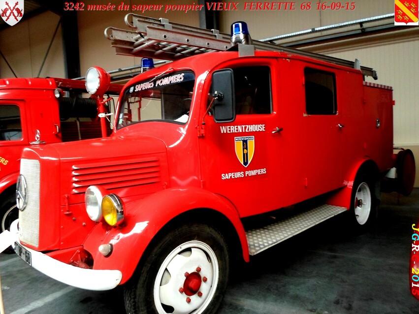 Musée du Sapeur Pompier d'ALSACE  2/4  20/26   VIEUX FERRETTE  68   D  13-06-2016