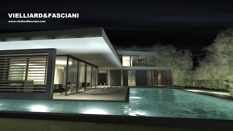Maison contemporaine r 1 for Maison moderne design contemporaine
