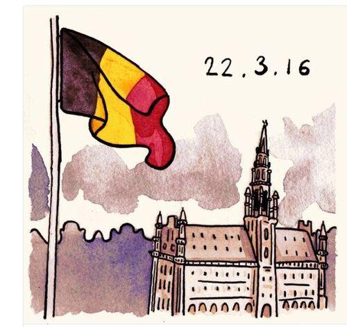 Belgium 22 mars