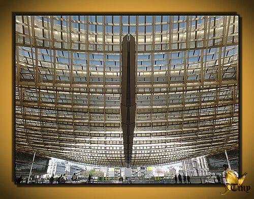 Le Forum des Halles ou plutôt La Canopée