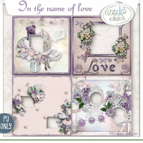 In the name of love by Scrap'Angie
