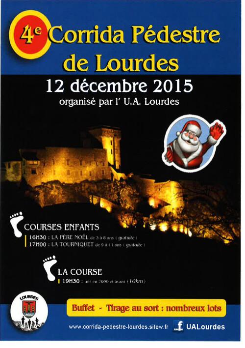 corrida pédestre de Lourdes 2015