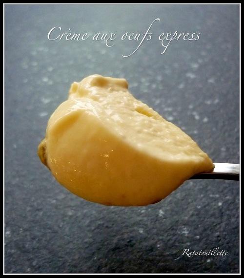 Crème aux oeufs (Cookeo)