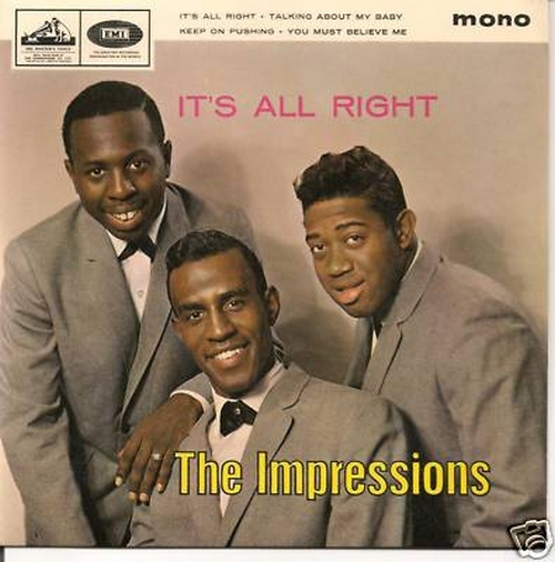 "1965 : EP "" It's All Right "" HMV Records 8896 [ UK ]"