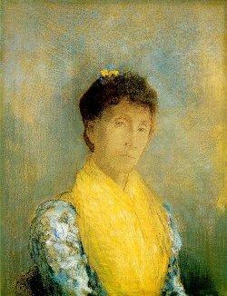 Femme au châle jaune - 1899 (pastel) Otterlo, Museum Kroller-Mueller