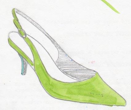 talons; heels