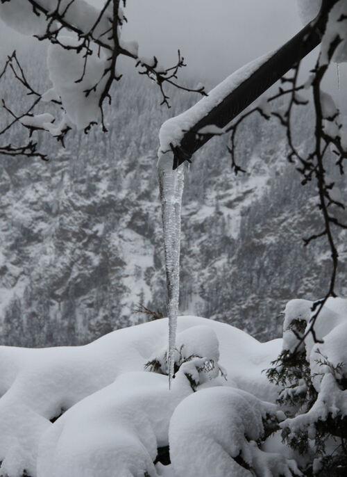 Ambiance de glace