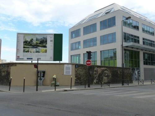 VHILS visage street-art rue Pajol 3