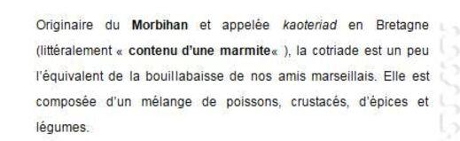 ** COUCOU  > DES RECETTES  de BRETAGNE ..!!**