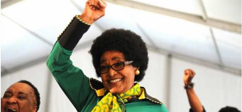 Winnie Mandela, portrait interdit
