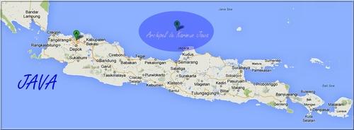 L'archipel de Karimun Jawa