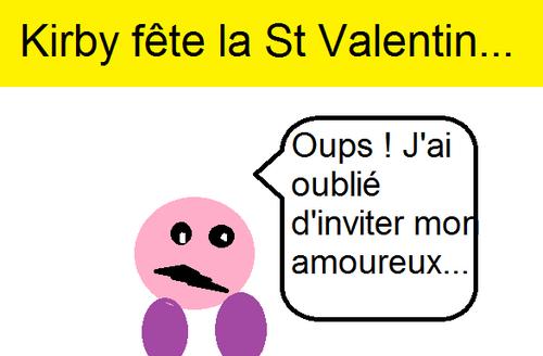 Kirby fête la St Valentin...