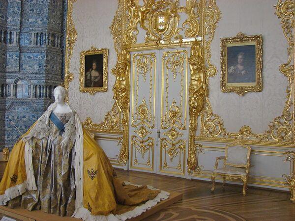 Russie: le palais Catherine à TSARSKOE SELO (2)