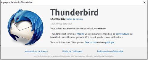 Thunderbird recevoir le courrier de Gmail