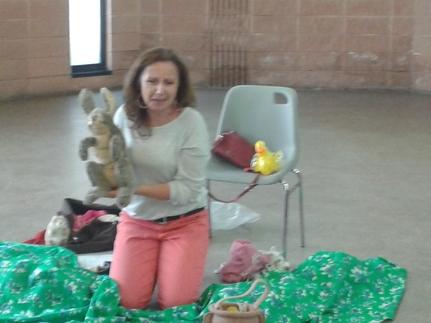 les contes..avec les marionnettes peluches