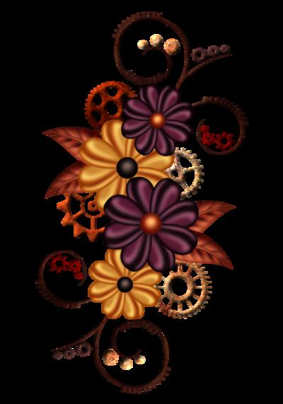 Tubes Automne steampunk