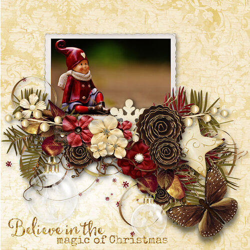 Touch Of Christmas, dentellescrap, creations, fanettedesign, scrap