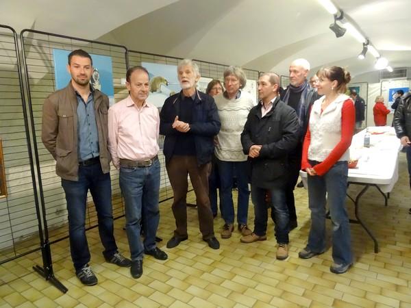"""Les Amis du châtillonnais ont présenté, salle des Bénédictines, une superbe exposition et une conférence initulées """"Voyage polaire""""..."""