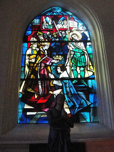 Domrémy, village natal de Jeanne d'Arc...