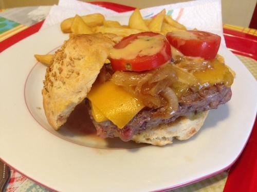 Histoire et recette de Hamburger...