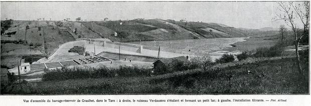 - Le barrage de MIQUELOU