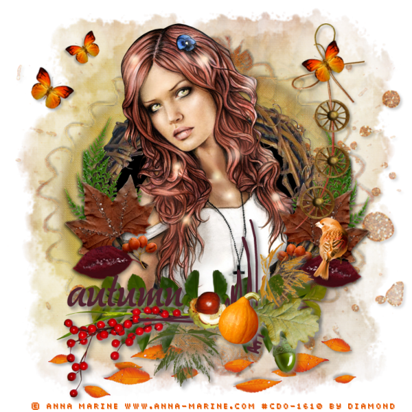 "Tutoriel ""Autumn"" de Ziscadesign"