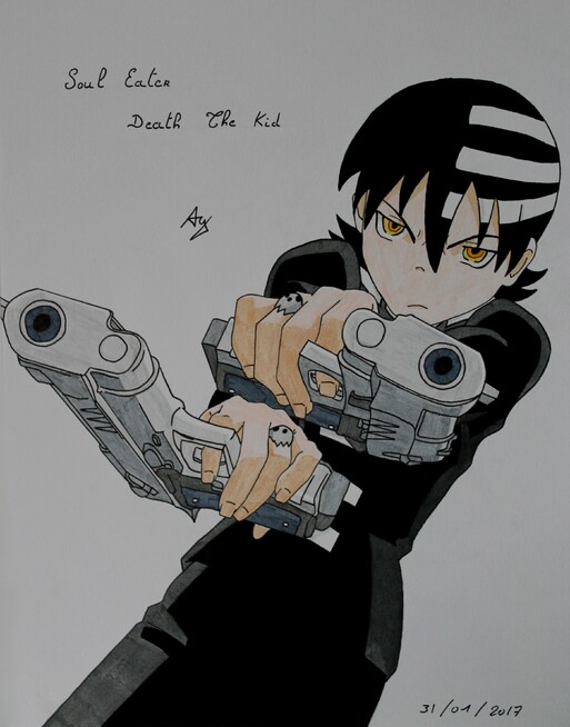Soul Eater #3 Death the Kid