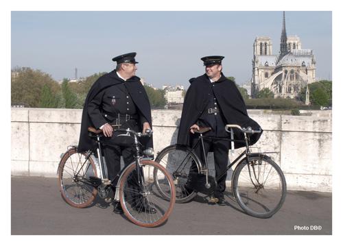 Notre police n'est pas contente...