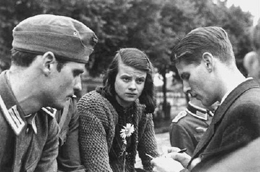 Sophie Scholl, l'étudiante antinazie engagée
