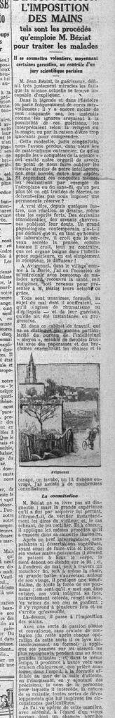 Le Petit Parisien, 3 et 4 mars 1925