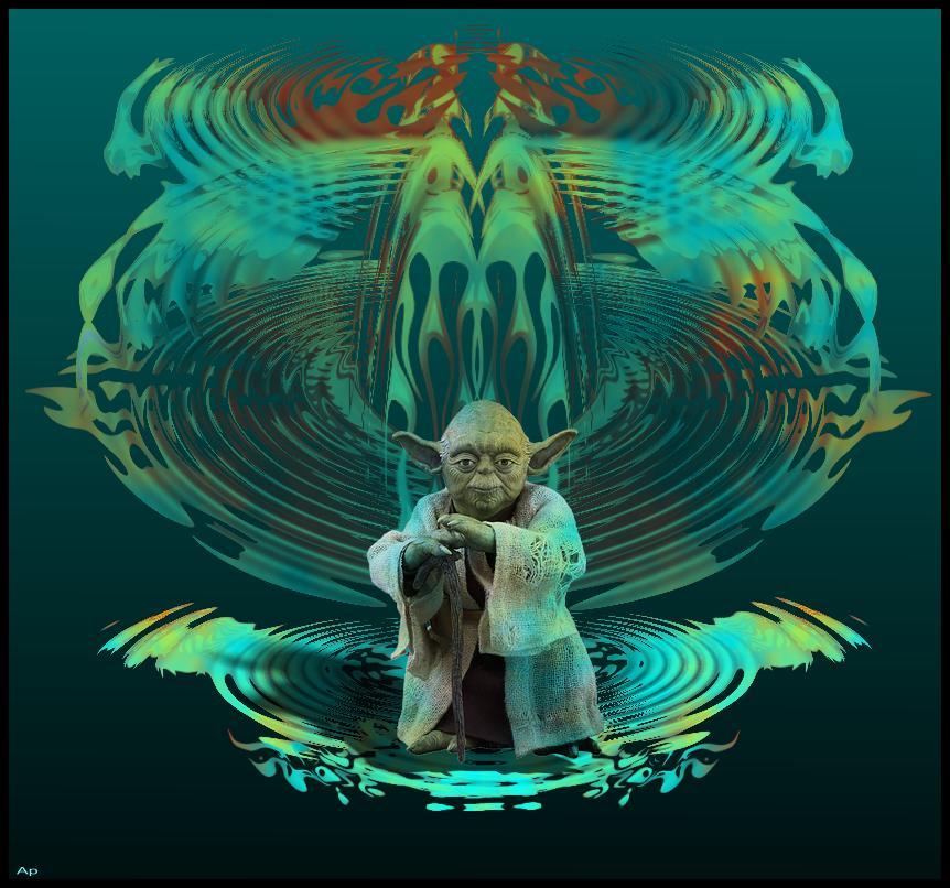 Psychédéliquement Yoda