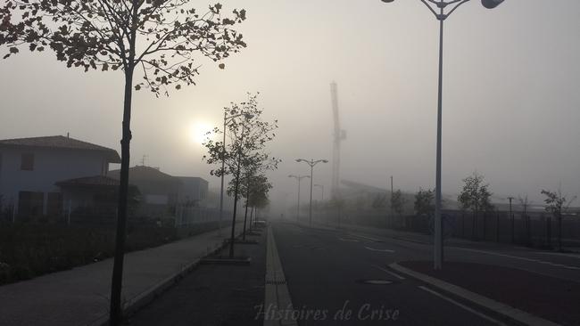 Photographie de brouillard