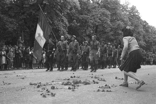* Survivant de Bir Hakeim, par Domingo LOPEZ - 9 - FRANCE : De la Provence à l'Alsace