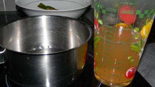Roussette (saumonette) gratinée à la crème citronnée
