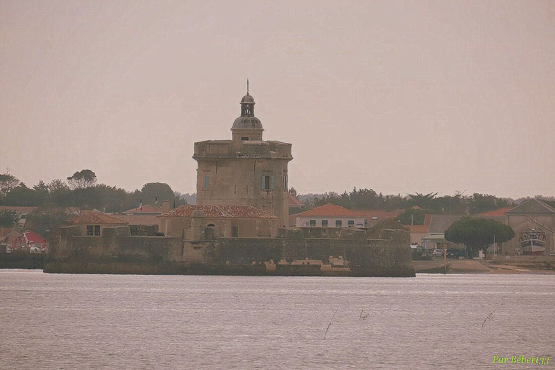 le pont d'Oléron depuis l'île