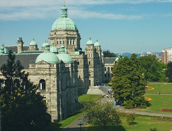 Jour 24 Victoria musée vue sur Parlement (2)
